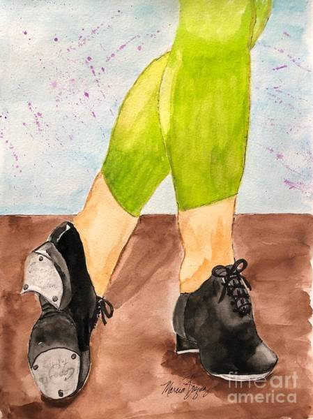 Painting - Tappin Toes by Marcia Breznay