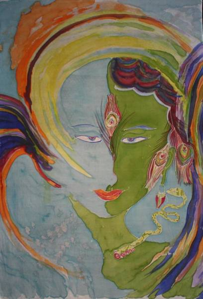 Boddhisatva Wall Art - Painting - Tara Boddhisatva Turning Angel by Stefanie Wilhelm