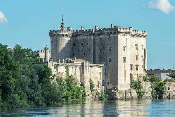 Wall Art - Photograph - Tarascon Castle, Tarascon, Provence by Jim Engelbrecht