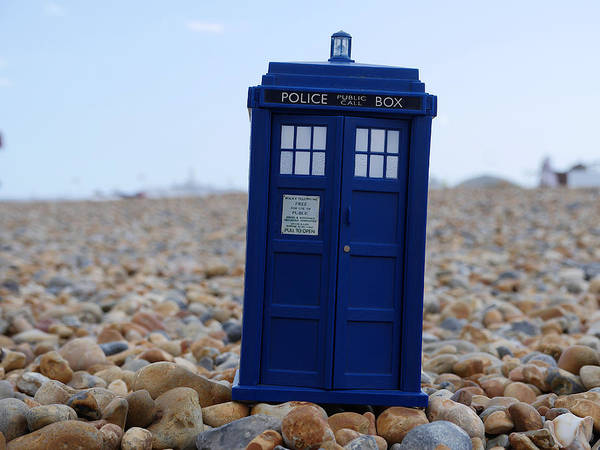 Photograph - Tardis - Vacation by Richard Reeve