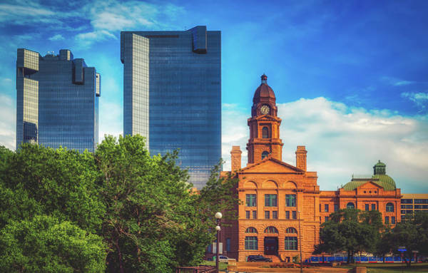 Wall Art - Photograph - Tarrant County Courthouse - Fort Worth, Texas by Mountain Dreams