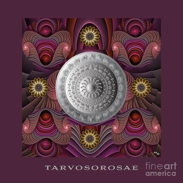 Digital Art - Tarvosorosae M B by Doug Morgan