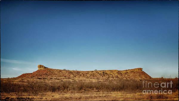 Photograph - Tascosa Mesa by Natural Abstract Photography
