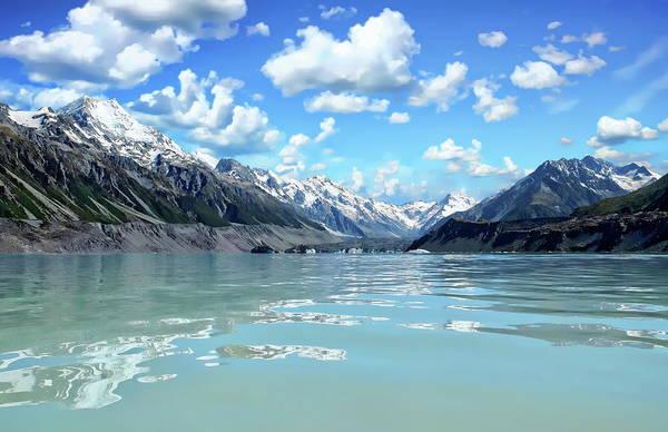 Photograph - Tasman Lake by Anthony Dezenzio