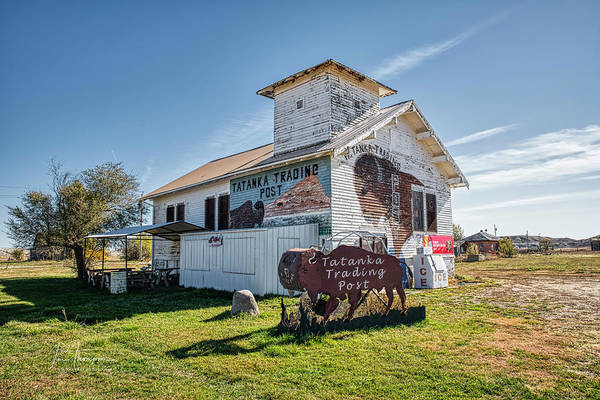 Photograph - Tatanka Trading Post by Jim Thompson