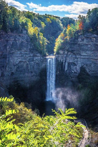 Photograph - Taughannock Falls From The Overlook by Lynn Bauer
