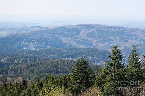 Photograph - Taunus View From Feldberg In Hessen, Germany by Les Palenik