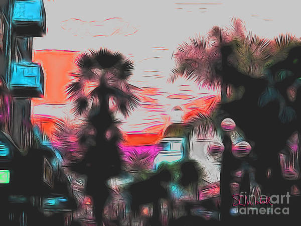Digital Art - Tauranga New Zealand by Stephen Mitchell
