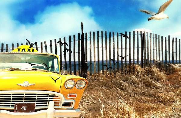 Wall Art - Photograph - Taxi To The Beach by Diana Angstadt