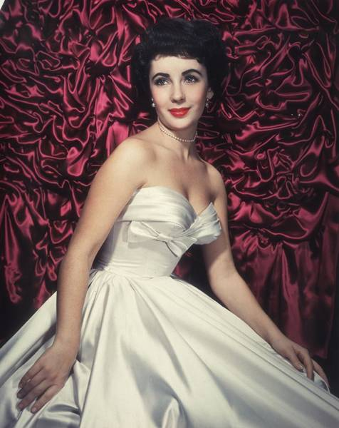 Evening Wear Photograph - Taylor In Satin by Hulton Archive