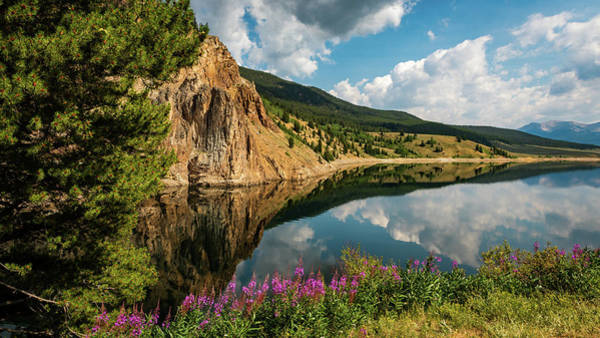 Photograph - Taylor Reservoir by Brenda Jacobs