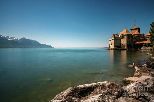 Schloss Wall Art - Photograph - Chillon Castle 3 by DiFigiano Photography
