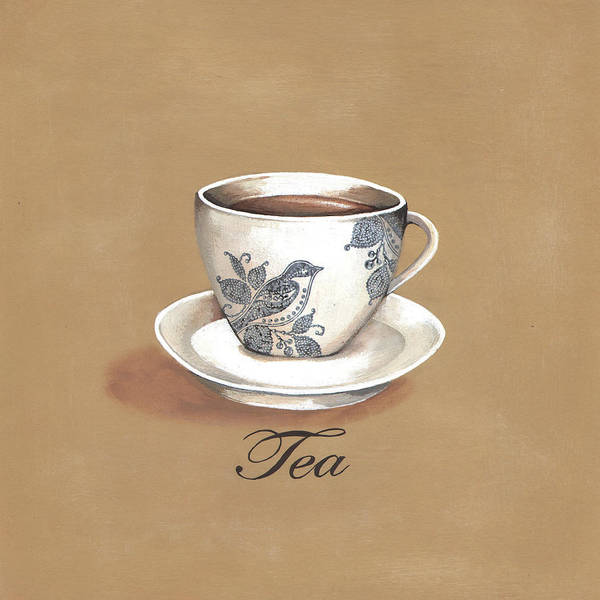 Wall Art - Digital Art - Tea by A.v. Art