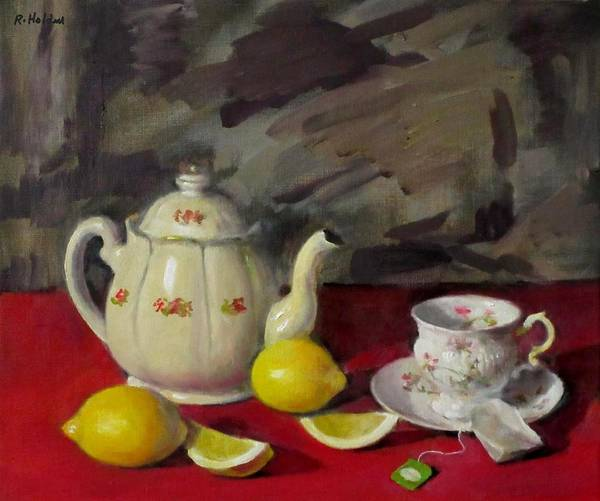 Made In Japan Wall Art - Painting - Tea Before The Storm by Robert Holden