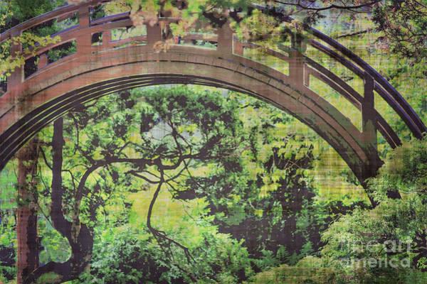 Wall Art - Photograph - Tea Garden Arch Bridge  by Diann Fisher