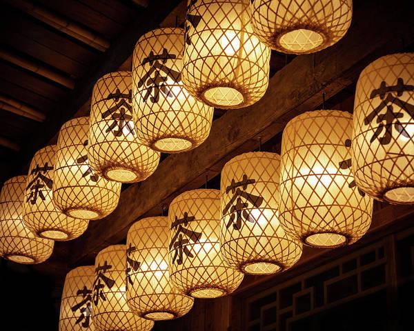 Photograph - Tea Lanterns by William Dickman