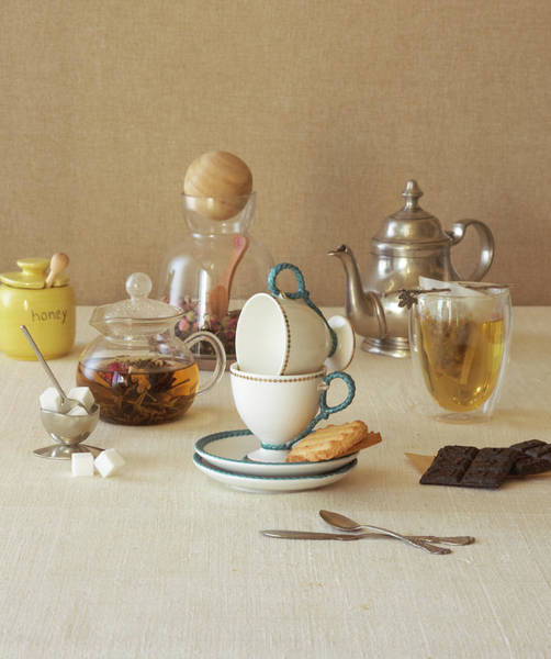 Photograph - Tea Set by Annabelle Breakey