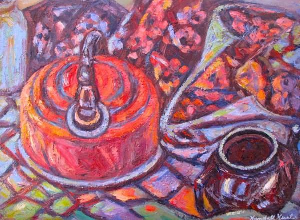 Painting - Tea Time by Kendall Kessler