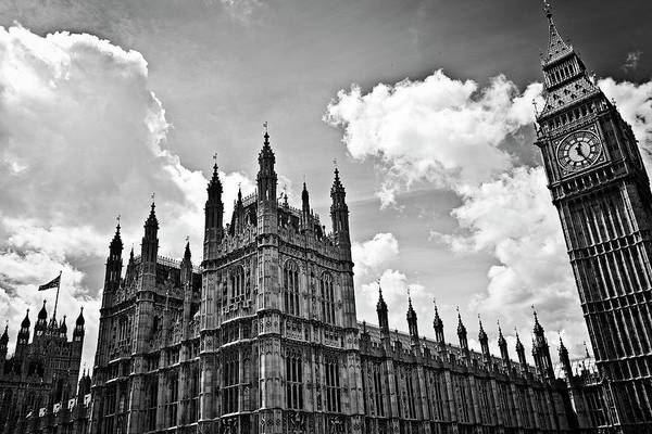 Wall Art - Photograph - Tea Time With Big Ben At Westminster - Classic Edition by Kamil Swiatek
