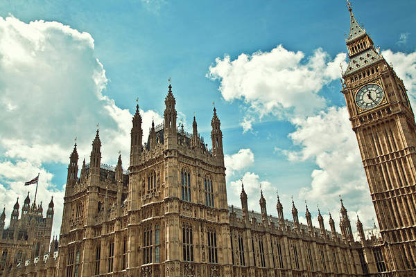 Wall Art - Photograph - Tea Time With Big Ben At Westminster by Kamil Swiatek
