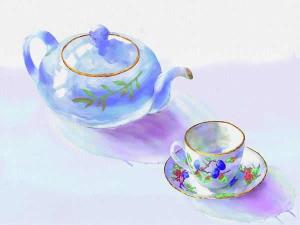 Painting - Tea Time by Xavier Francois