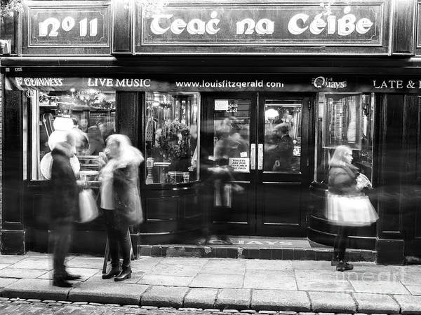Wall Art - Photograph - Teac Na Ceibe At Night Dublin by John Rizzuto