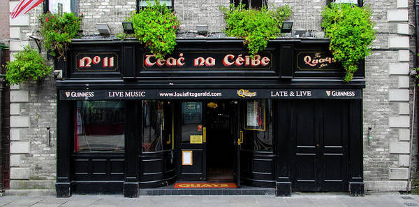 Wall Art - Photograph - Teac Na Ceibe- Dublin Ireland - The Quays Pub by Bill Cannon