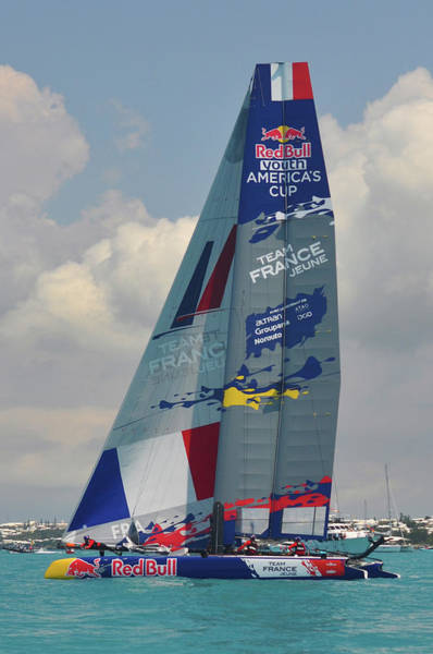 Ac45 Photograph - Team France In Red Bull Challenge by Ray Hoare