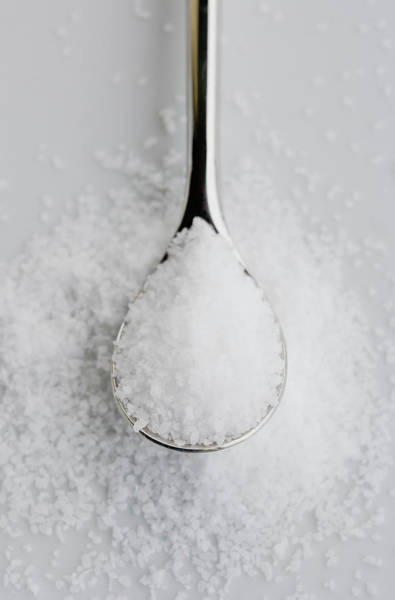 Messier Object Photograph - Teaspoon With Salt, Close Up by Inti St. Clair
