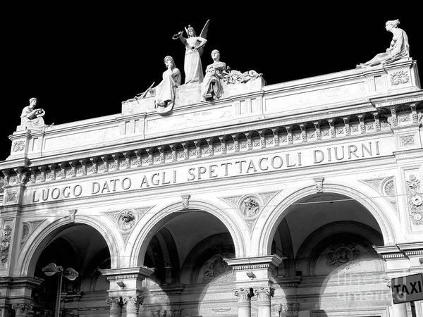 Photograph - Teatro Arena Del Sole In Bologna by John Rizzuto