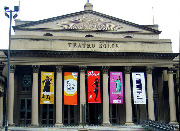 Montevideo Wall Art - Photograph - Teatro Solis, Montevideo, Uruguay by Kurt Van Wagner