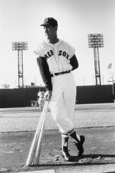 Equipment Photograph - Ted Williams by Slim Aarons