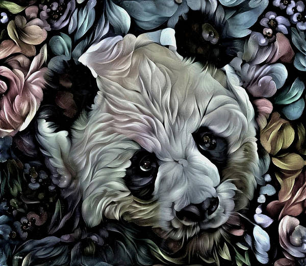 Wall Art - Mixed Media - Teddy 002 by G Berry
