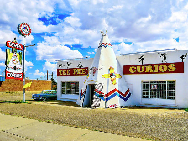 Wall Art - Photograph - Tee Pee Curios by Dominic Piperata