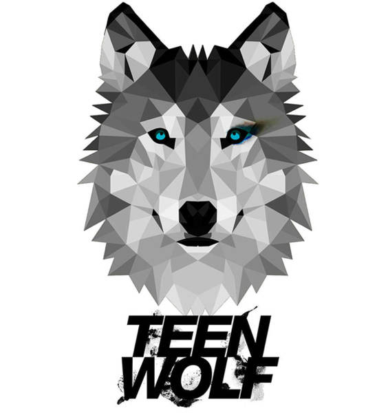 Wall Art - Digital Art - Teen Wolf by Geek N Rock
