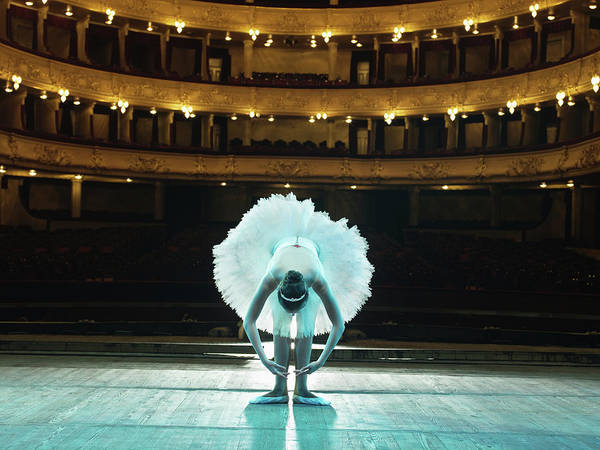 Wall Art - Photograph - Teenage Ballerina 14-15 On Stage by Hans Neleman