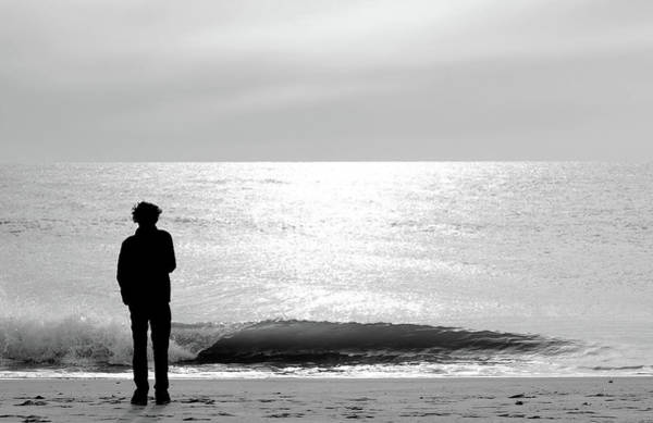 Teenager Photograph - Teenager On The Beach by Rocksunderwater