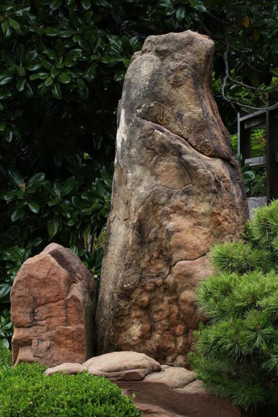 Photograph - Large And Small Standing Stones by Debi Dalio