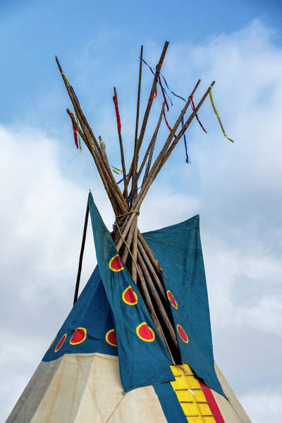 Wall Art - Photograph - Teepee Top - #1 by Stephen Stookey