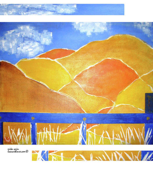Wall Art - Painting - Tejon Pass by Erika Wain