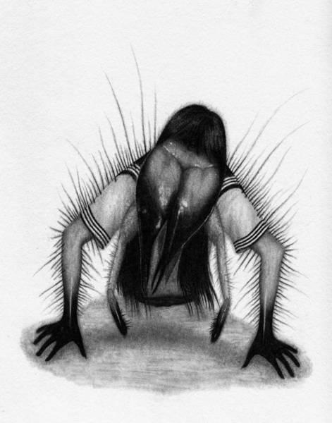 Drawing - Teke Teke - Artwork by Ryan Nieves