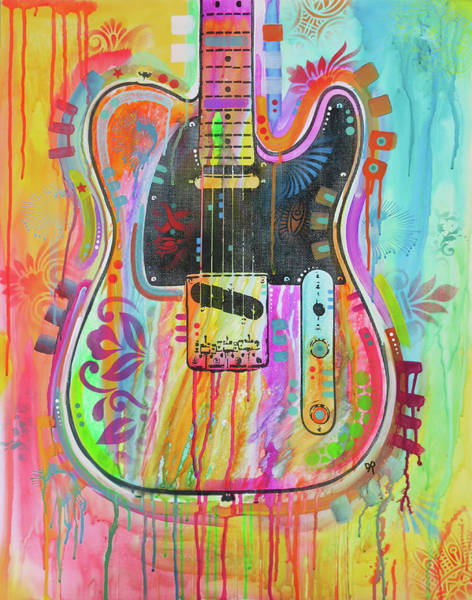 Painting - Telecaster by Dean Russo Art