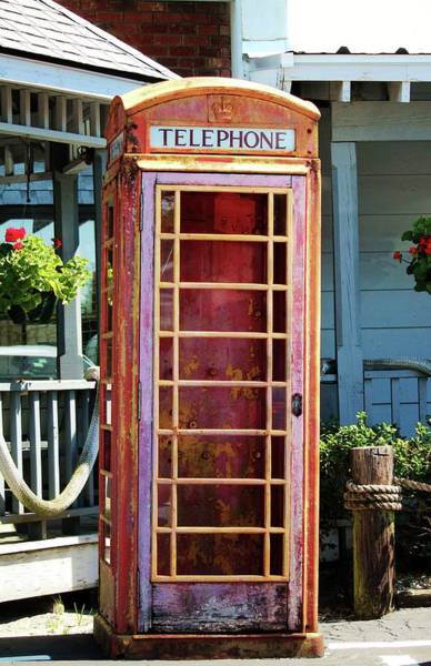 Photograph - Telephone Box by Cynthia Guinn