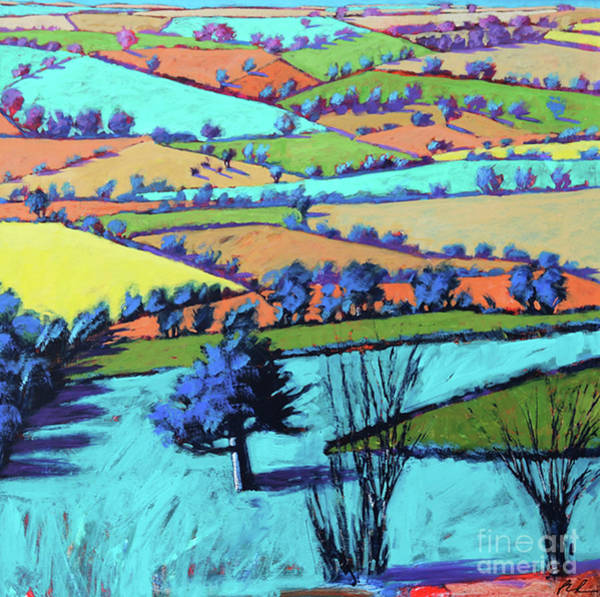 Wall Art - Painting - Teme Valley Summer II  by Paul Powis