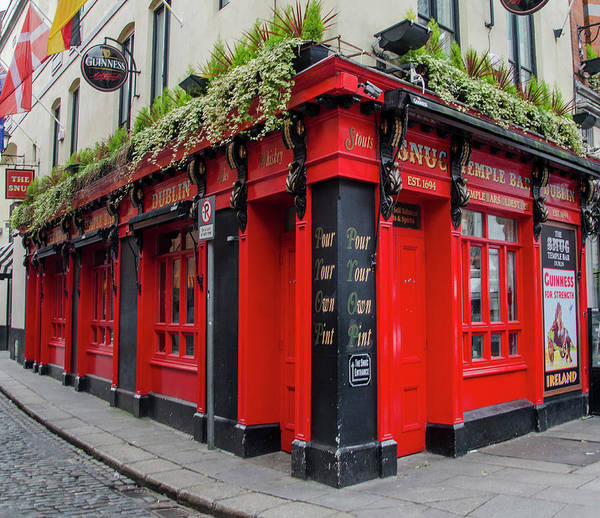 Wall Art - Photograph - Temple Bar - Dublin Ireland - The Snug  by Bill Cannon