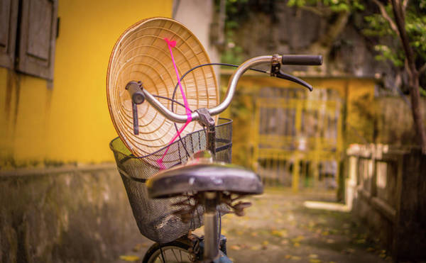 Photograph - Temple Bike Tam Coc by Gary Gillette