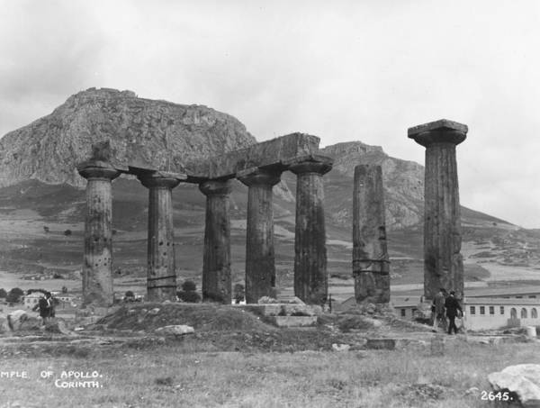 Ancient Greek Photograph - Temple Of Apollo by Hulton Collection
