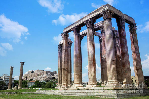 Photograph - Temple Of Olympian Zeus by Scott Kemper