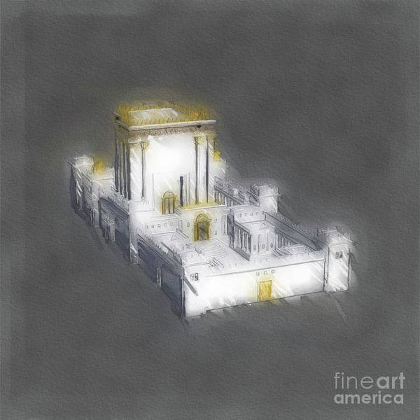 Wall Art - Painting - Temple Of Solomon by Raphael Terra