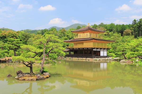 Kansai Region Wall Art - Photograph - Temple Of The Golden Pavilion Kyoto Japan by Ivan Pendjakov